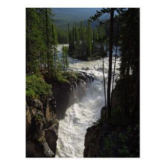 Canadian Falls Postcard