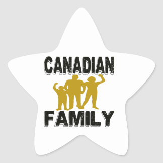 Canadian Family Stickers