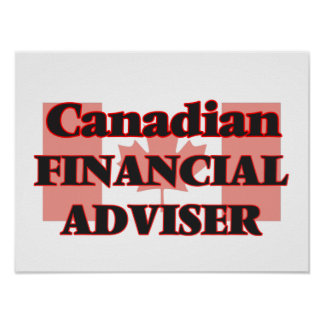 Canadian Financial Adviser Poster