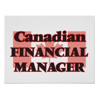Canadian Financial Manager Poster