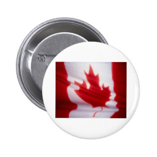 CANADIAN FLAG 2 INCH ROUND BUTTON