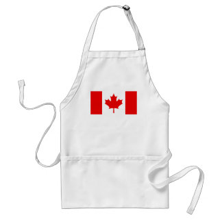 CANADIAN FLAG APRON
