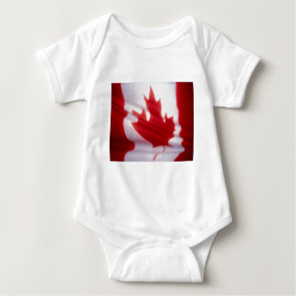 Canadian Flag Baby Bodysuit
