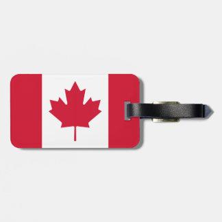 Canadian Flag - Canada Maple Leaf - Luggage ID Tag