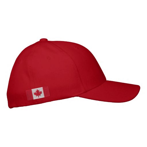 Canadian Flag Cap Embroidered Baseball Cap
