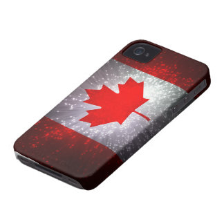 Canadian Flag Case-Mate iPhone 4 Cases