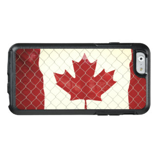 Canadian Flag. Chain Link Fence. Rustic. Cool. OtterBox iPhone 6/6s Case