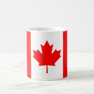 canadian flag coffee mug