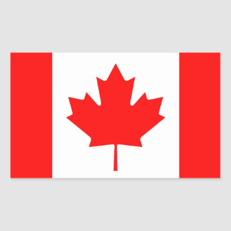 Canadian Flag Decal Stickers