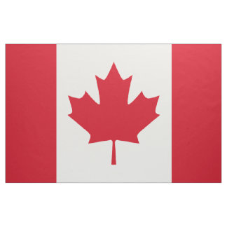 Canadian Flag Fabric