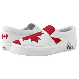 Canadian Flag Flag -.png Slip-On Sneakers
