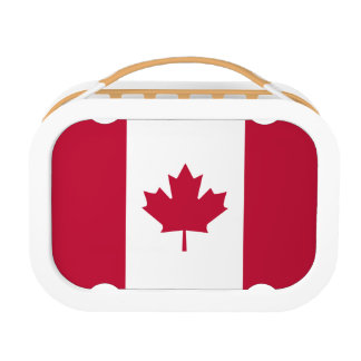 Canadian Flag Lunch Boxes