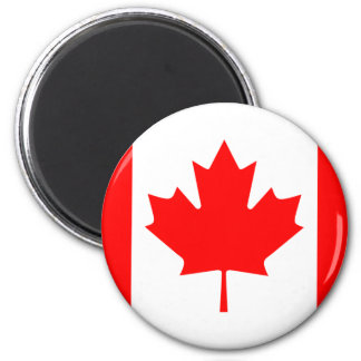 Canadian flag magnet