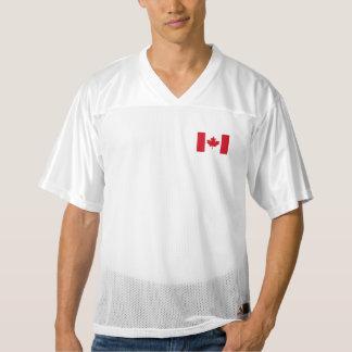 Canadian Flag Men's Football Jersey