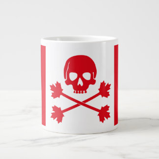 Canadian Flag Modified For Rad Techs Large Coffee Mug