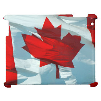 Canadian Flag of Canada Maple Leaf Patriotic Case iPad Cover