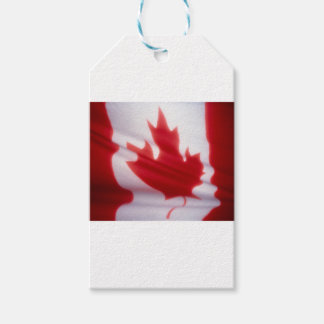 CANADIAN FLAG PACK OF GIFT TAGS