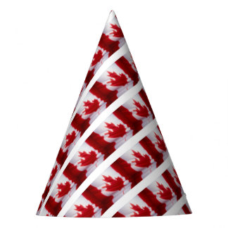 CANADIAN FLAG PARTY HAT