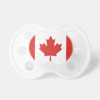Canadian Flag-Patriotic Baby Pacifier