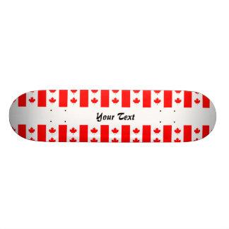Canadian flag pattern skateboard decks