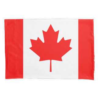 Canadian flag pillowcase for Canada