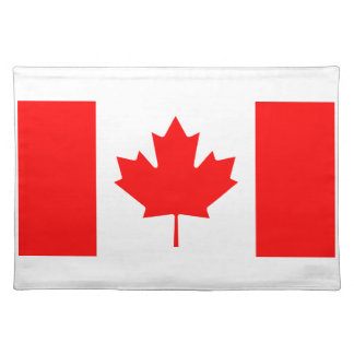 Canadian Flag Place Mat