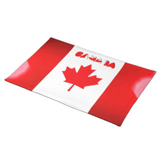 Canadian flag placemat