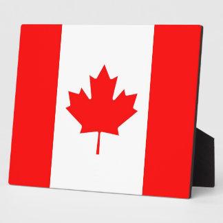 Canadian Flag Plaque