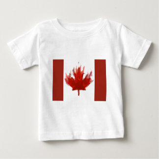 canadian flag  representing our hearts excitement baby T-Shirt
