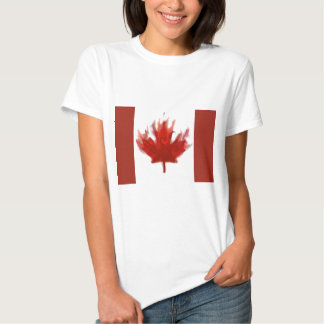 canadian flag  representing our hearts excitement shirt