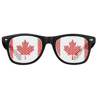 Canadian Flag Retro Sunglasses