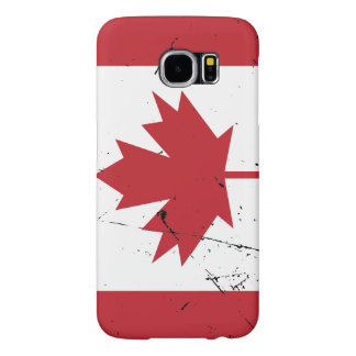 Canadian Flag Samsung Galaxy S6 Cases