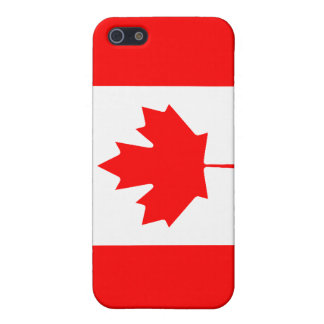 Canadian Flag Savvy iPhone 5 Matte Finish iPhone 5 Cover
