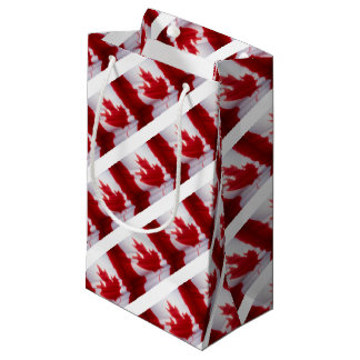 CANADIAN FLAG SMALL GIFT BAG