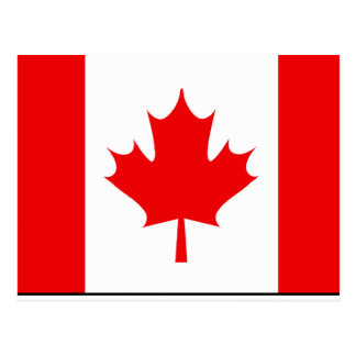 Canadian Flag T-shirts and Gifts Postcard