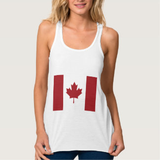 Canadian flag tank top