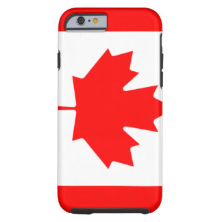 Canadian Flag Tough iPhone 6 Case