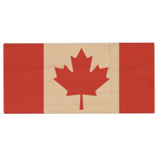 Canadian Flag USB Flash Drive