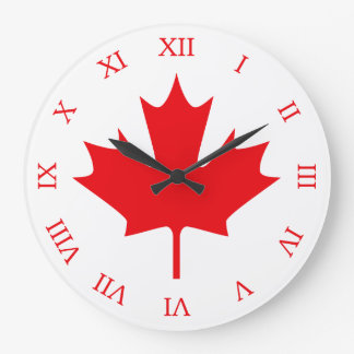 Canadian Flag Wallclock