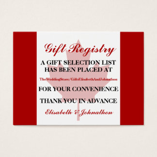 Wedding Gift Cards Canada : Canada Flag Business Cards and Business Card Templates Zazzle Canada