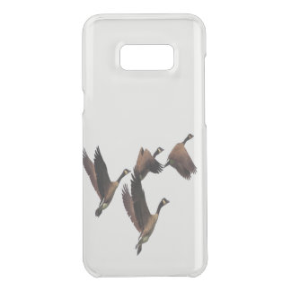 Canadian geese flying in a flock kids design uncommon samsung galaxy s8 plus case