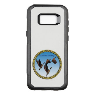 Canadian geese flying together kids design OtterBox commuter samsung galaxy s8+ case