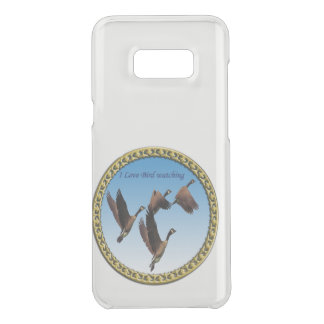 Canadian geese flying together kids design uncommon samsung galaxy s8 plus case