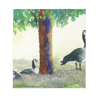 Canadian Geese Notepad