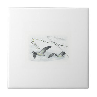 Canadian Geese Tile. Tile
