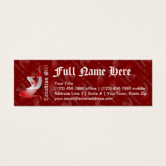 Canadian Flags Business Cards And Business Card Templates
