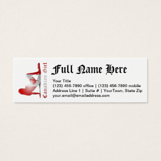 Canadian Flag Business Cards And Business Card Templates