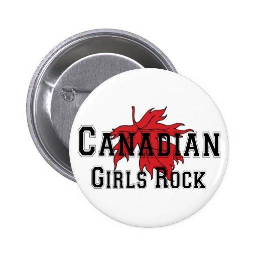 Canadian Girls Rock Pin