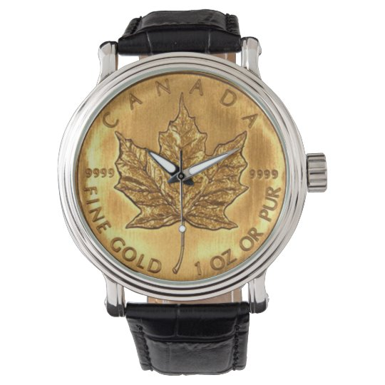 Canadian Gold Coin Watch