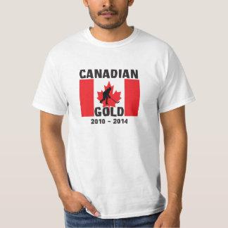 Canadian Gold - Mens Hockey Repeat T-Shirt